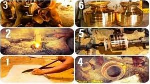 brass utesnil making